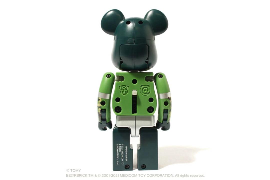 BE@RBRICK,TRANSFORMERS,BAPE®︎  你没见过的全新玩法!BAPE x 积木熊 x 变形金刚三方联名曝光!