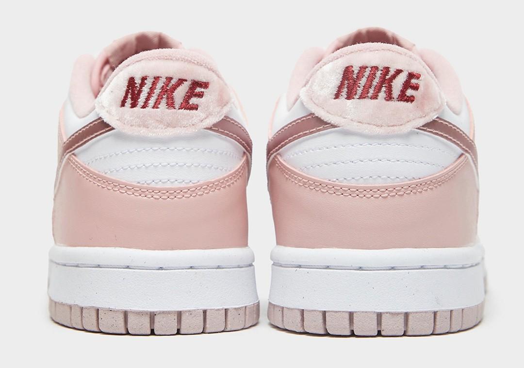 Nike,Dunk Low,GS,Pink Velvet  猛男心动!全新「情人节」Dunk Low 实物图曝光!