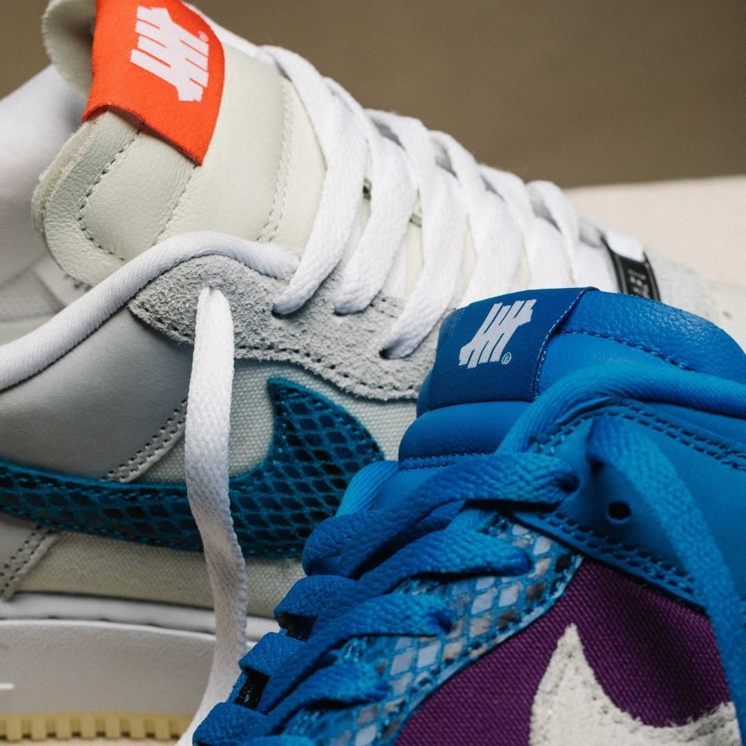 5 ON IT,DUNK vs AF1,Nike,UNDEF  SNKRS 突袭上架!UNDEFEATED x Nike 终于大范围发售!