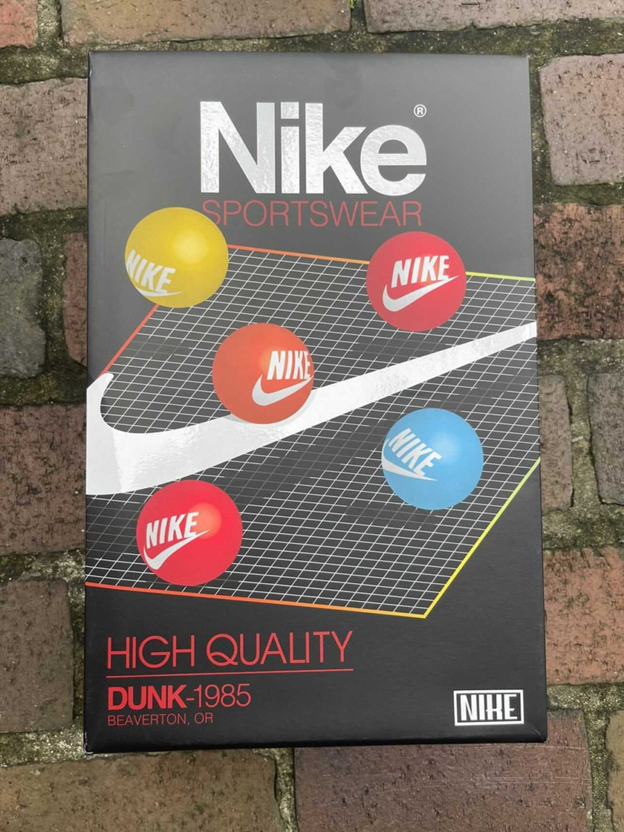 Nike,Dunk High 1985,Red Acid W  复古气息满满!全新配色 Dunk High 实物曝光!