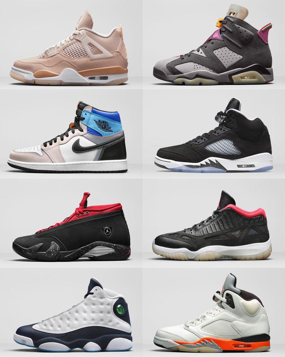 AJ1,AJ4,AJ5,发售  下月 AJ 发售计划曝光!这 8 双你最想买哪个?
