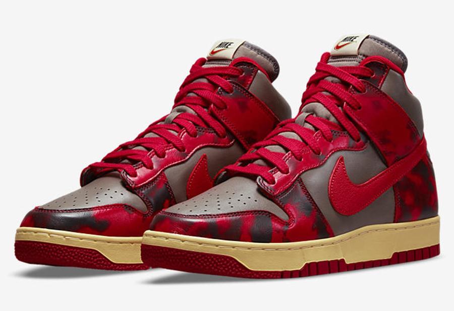 "Nike Dunk Hi 1985 ""Red Acid""  复古风拉满!全新配色 Dunk Hi 即将发售!"
