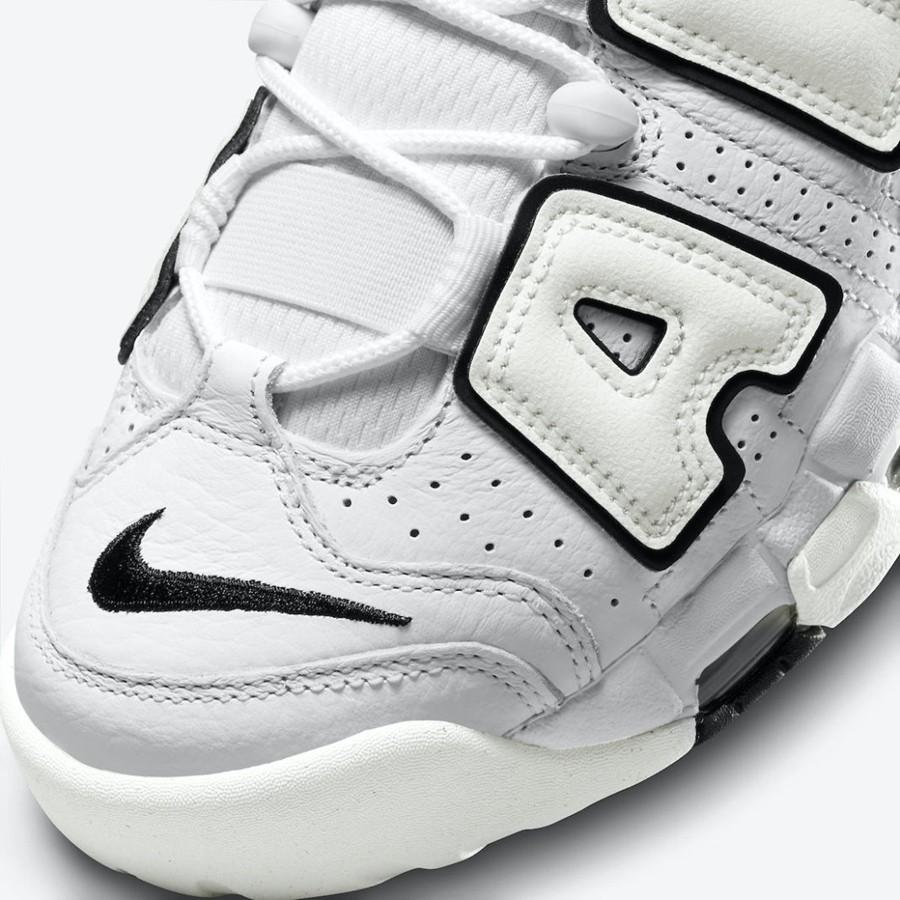 Nike,Air More Uptempo,DO6718-1  经典黑白装扮!全新 Air More Uptempo 官图曝光!