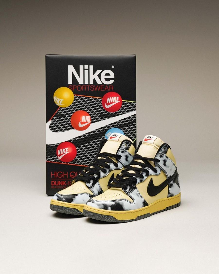 Nike,Dunk High 1985,black-acid  SNKRS 上架!复古装扮 Dunk HI 1985 后天发售!