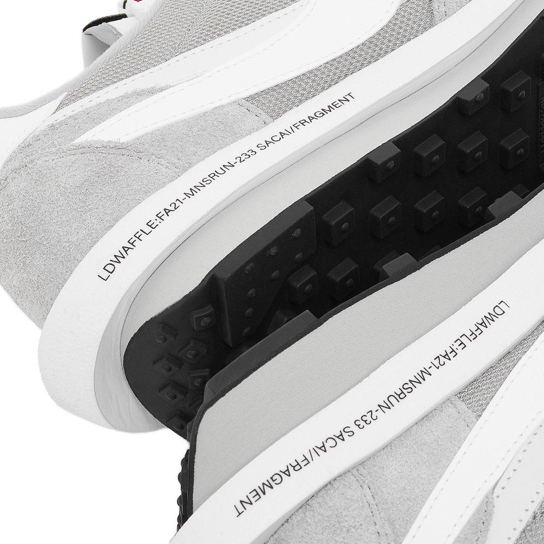 Fragment,sacai,Nike,LDWaffle,B  登记开启!看着就贵的「闪电 x sacai x Nike」来了!