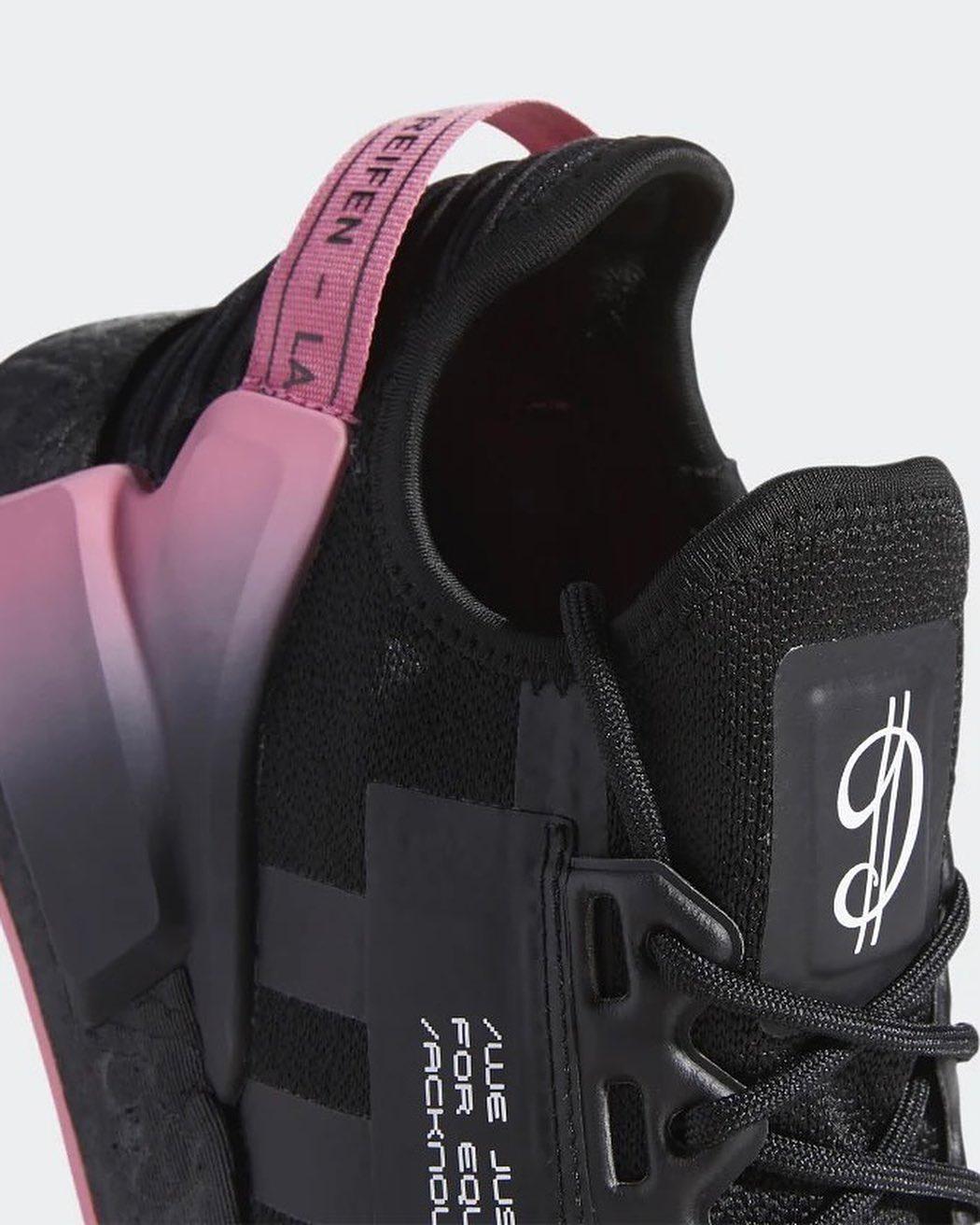 Dame,D.O.L.L.A,NMD,adidas  黑粉配色!全新 Dame NMD 图片曝光!