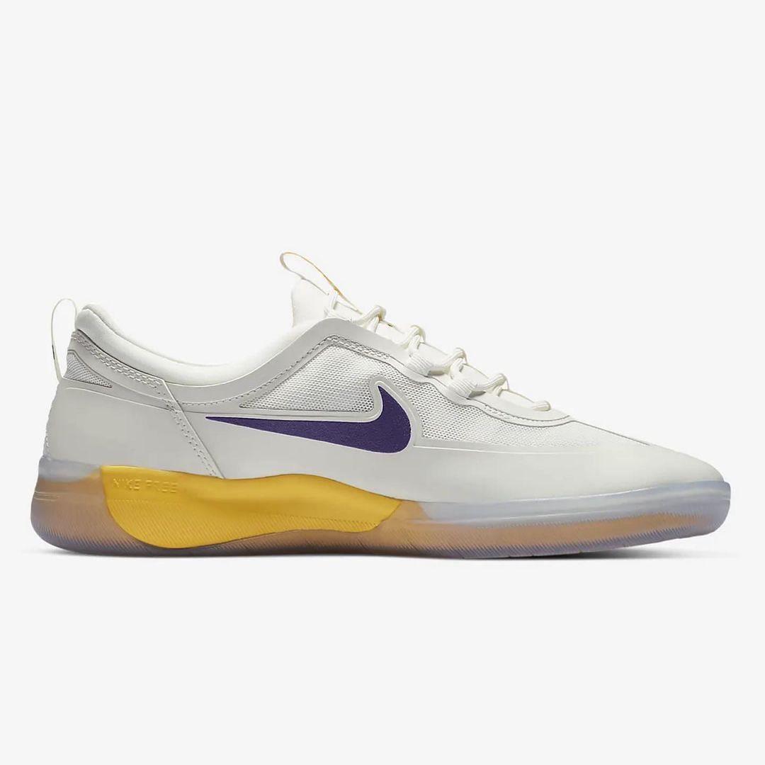 "Nike,SB,Nyjah Free 2,Lakers""  勒布朗紫金配色!全新鞋款 Nike SB 发售信息曝光!"
