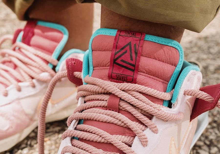 Nike,Social Status x Nike Dunk  甜美气息!Social Status x Nike Dunk 实物曝光!