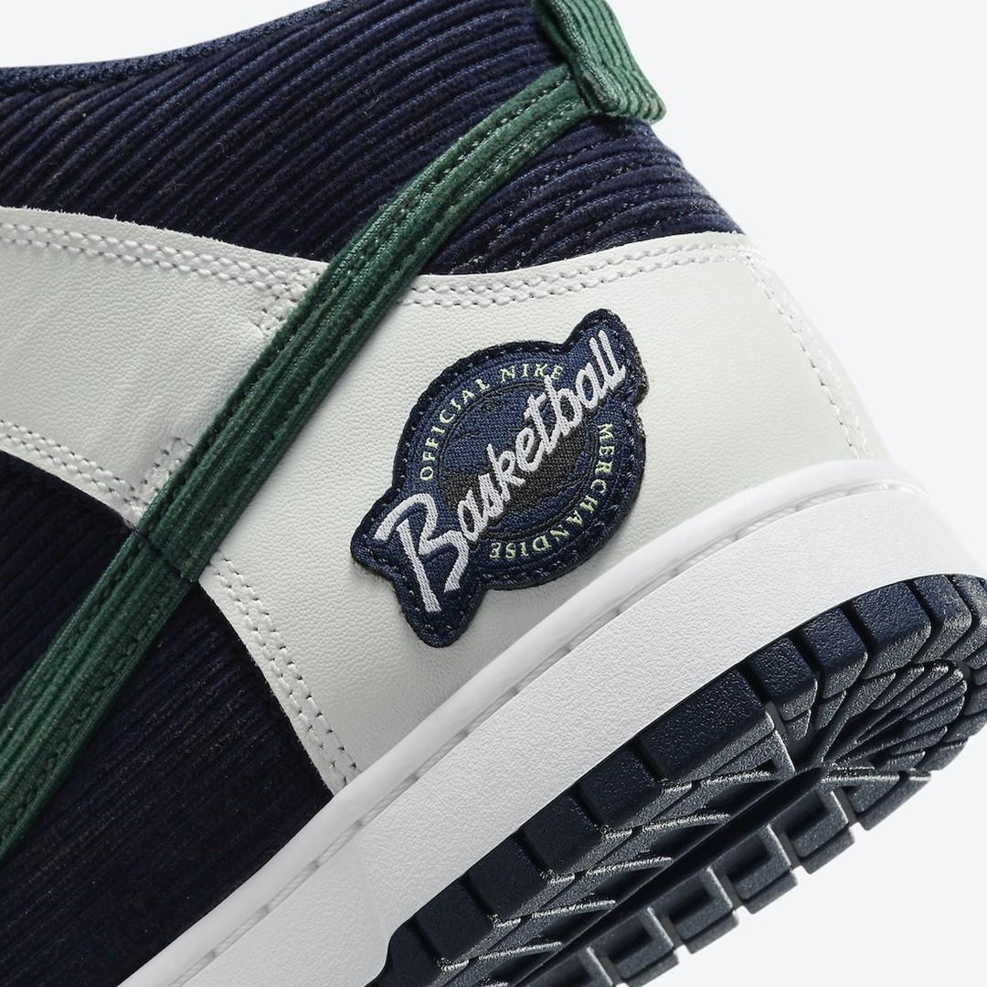 Nike,Dunk High,Sports Specialt  质感不输「联名鞋」!全新 Dunk Hi 官图曝光!还有超多细节!