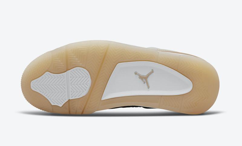 """Air Jordan 4,Air Jordan 4 WMNS  OW 联名最佳平替!AJ4 """"Shimmer"""" 官图曝光!"""