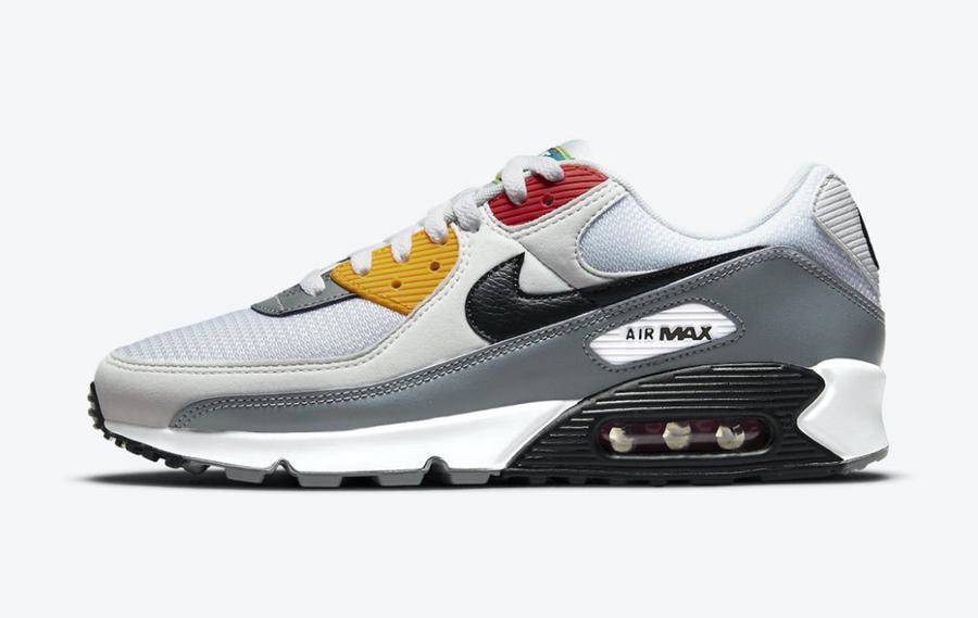 Nike,Air Max 90,Peace,Love,Swo  缤纷色彩真好看!全新 Air Max 90 官图曝光!