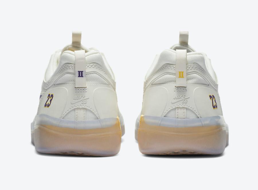 Nike SB,Nyjah Free 2,Lakers,DA  詹姆斯 23 号专属!全新 NBA x Nike SB 官图曝光!