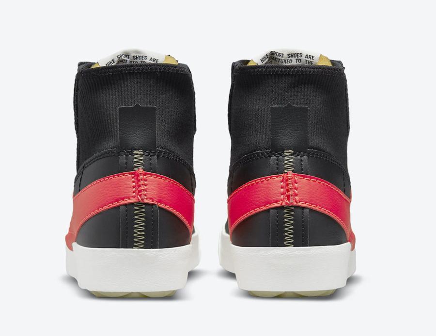 Nike,Blazer Mid '7,Jumbo,DD311  超大 Swoosh Logo 太夸张!全新 Blazer Mid 官图曝光!
