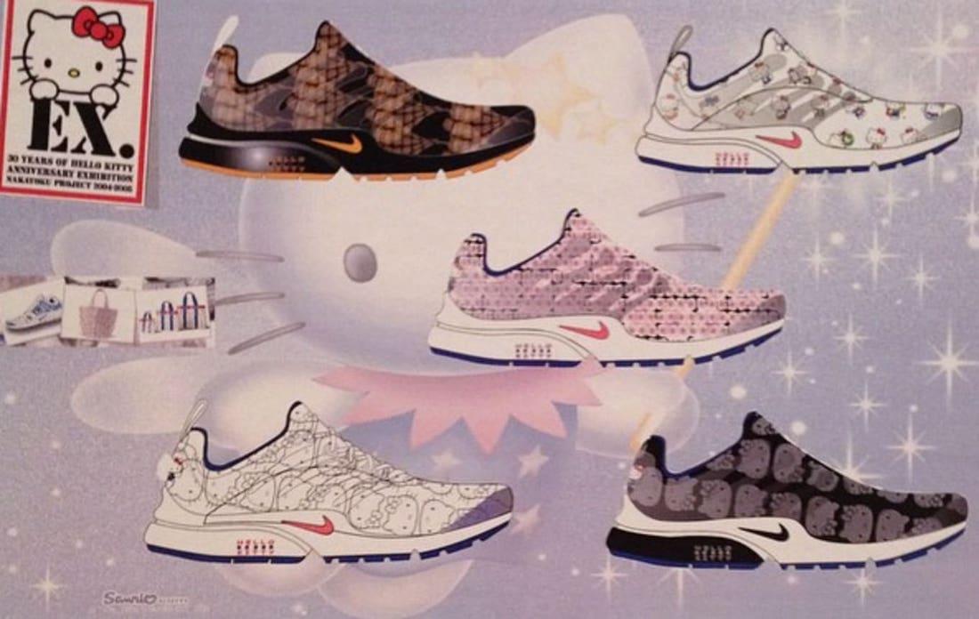 Hello Kitty,Nike,Air Presto  超限量天价神鞋回归!Hello Kitty x Nike 传闻年底复刻!