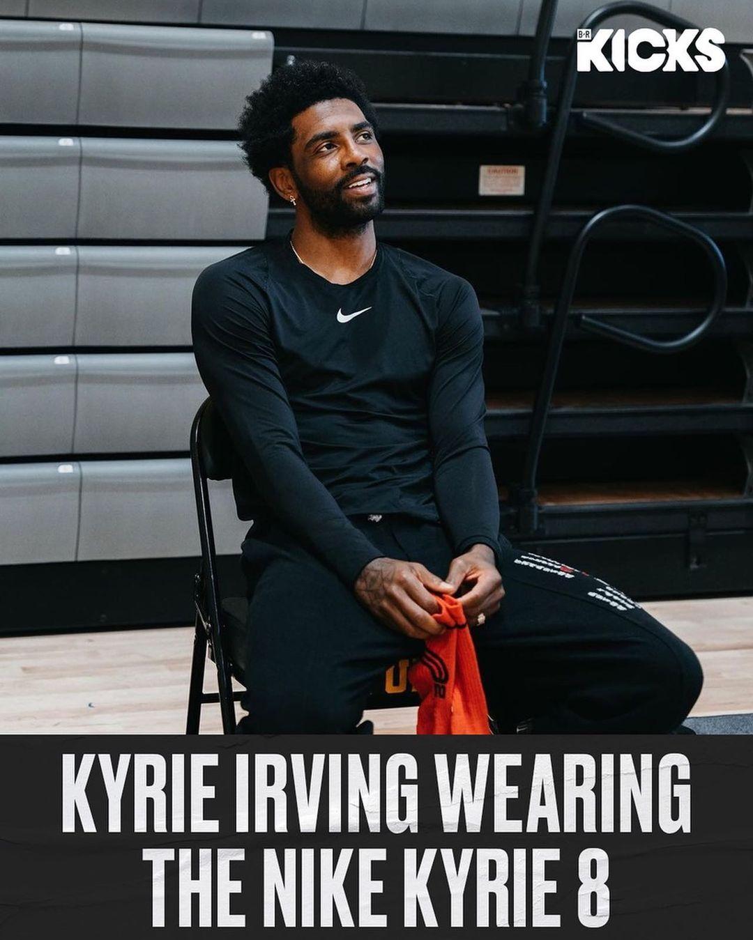 Nike,欧文,Kyrie 8  欧文上脚 Kyrie 8 又真香了?这难道就是「重新设计」的新鞋?!