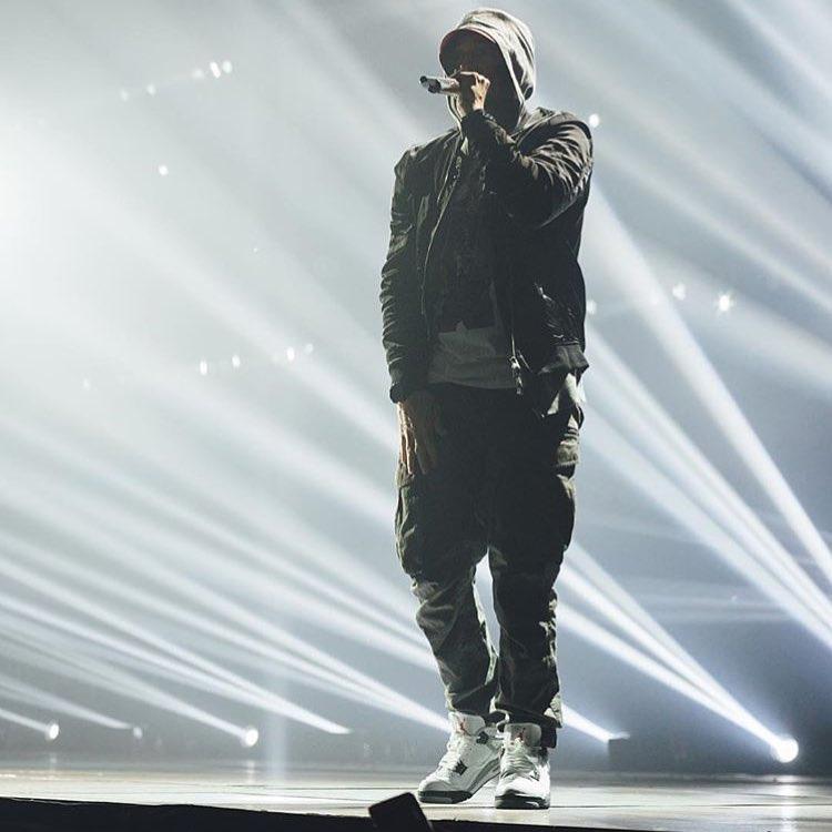 AJ3,Air Jordan 3,Eminem,Sample  尘封 9 年突然曝光!「Vibe 风」Eminem x AJ3 太帅了!