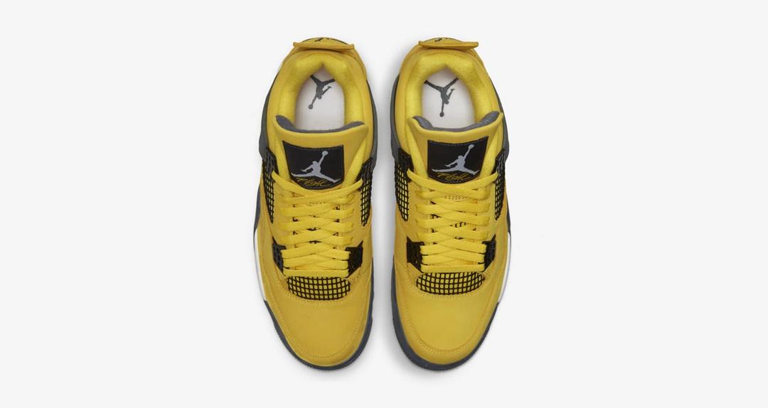 AJ4,Air Jordan 4,Lightning,CT8  万元神鞋本周回归!全新「电母」AJ4 还是原来的味道!