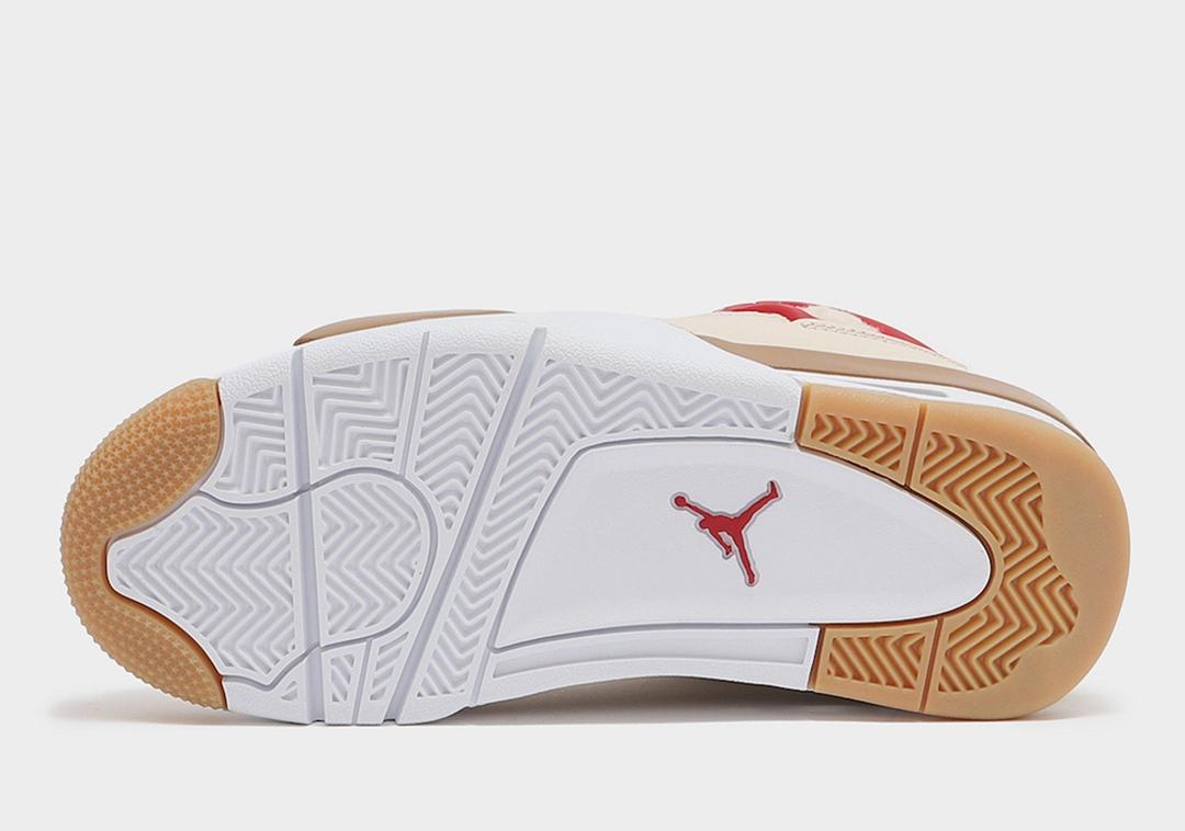 AJ4,Air Jordan 4,GS,Where The  全新「大棉鞋」AJ4 实物曝光!冬天不怕冷了!