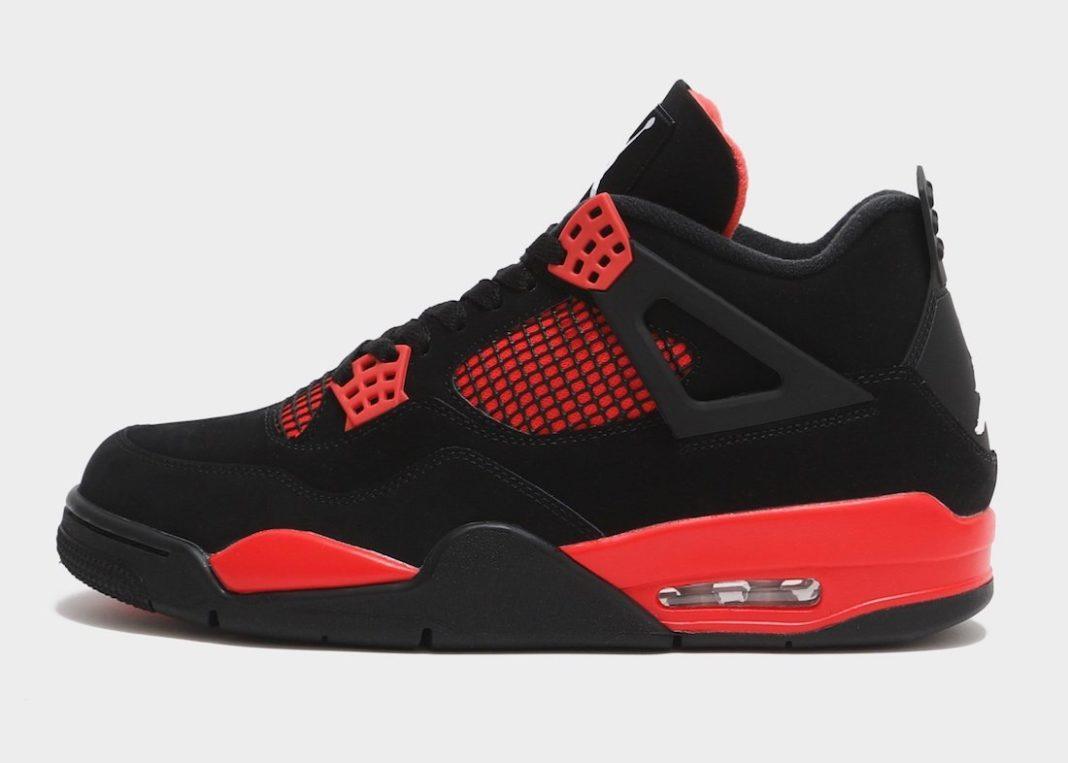 Air Jordan 4,Red Thunder,CT852  经典黑红配色!全新 AJ4 实物及发售信息曝光!