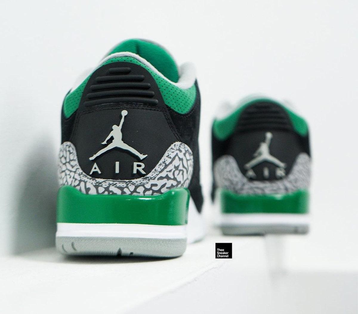Air Jordan 3,AJ3,CT8532-030,Pi  「俄勒冈」配色!全新 AJ3 高清美图曝光!