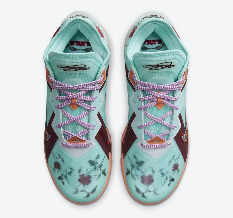 Nike,LeBron 18 Low,Floral,CV75  骚气「花卉」装扮!全新配色 LeBron 18 Low 官图曝光!