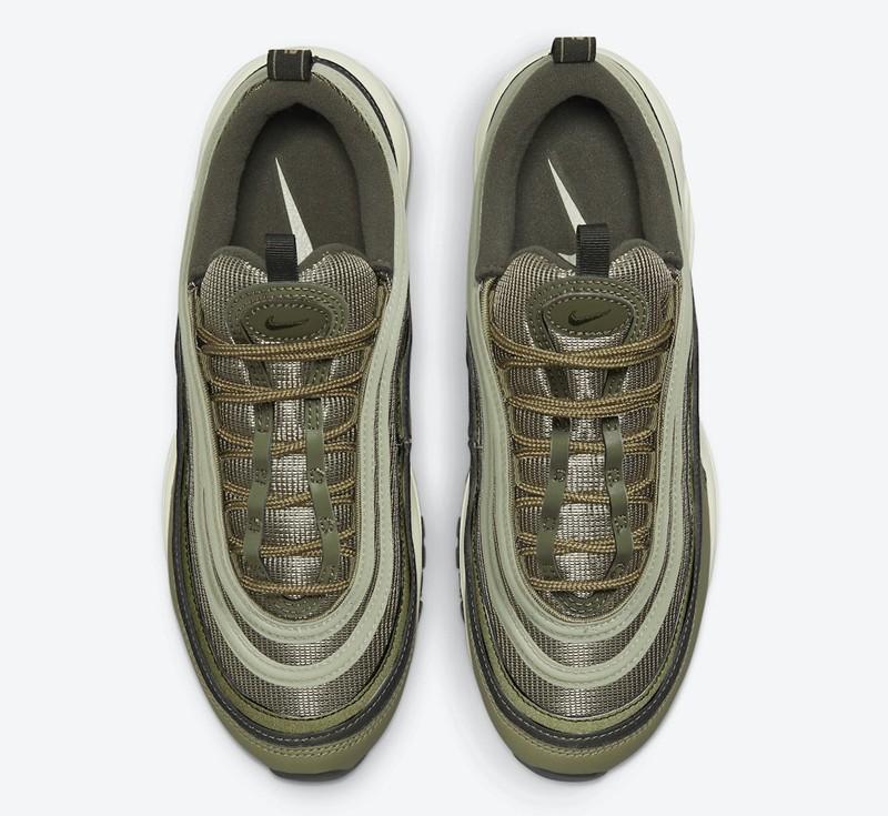 Nike,Air Max 97,DO1164-200  军事风满满!全新配色 Air Max 97 官图释出!