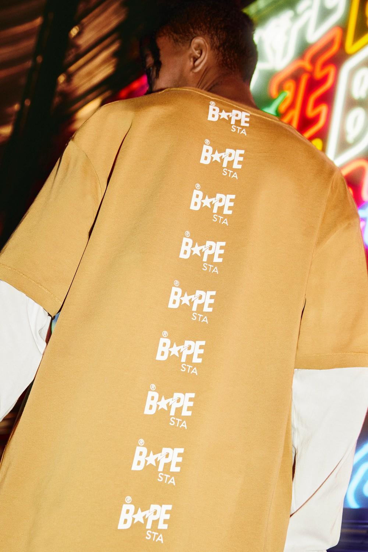BAPE STA,BAPE,发售  雪城、北卡都来了!BAPE STA 新品即将发售!还有串标设计!