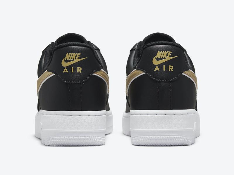 Nike,Air Force 1 Low,DD1523-00  奢华黑金配色!全新 Air Force 1 Low 官图曝光!