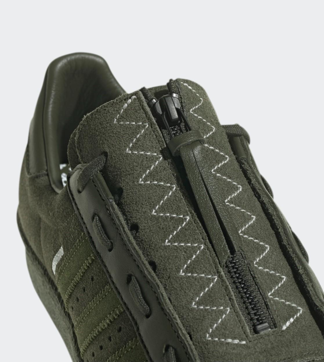 NEIGHBORHOOD,NBHD,adidas Super   「鞋子带盖」又来了!全新 NBHD x adidas Superstar 现已登场!