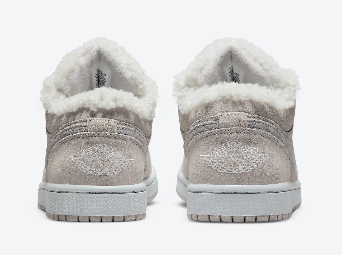 Air Jordan 1 Low,Sherpa Fleece  这回冬天不冷了!全新「羊毛」 AJ1 Low 官图曝光!