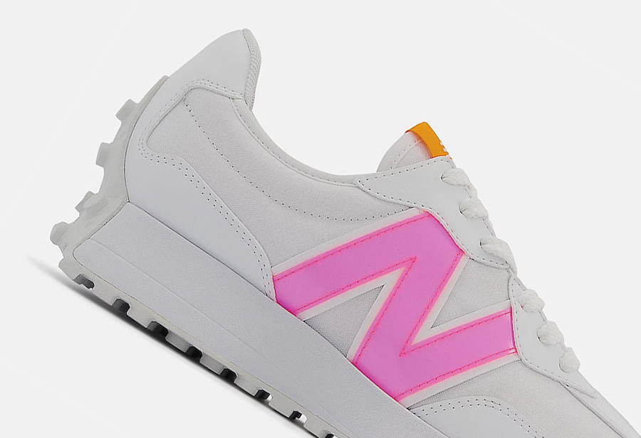 Coco Gauff,New Balance,327  17 岁小将收货专属签名鞋!全新 NB 327 联名鞋即将发售!