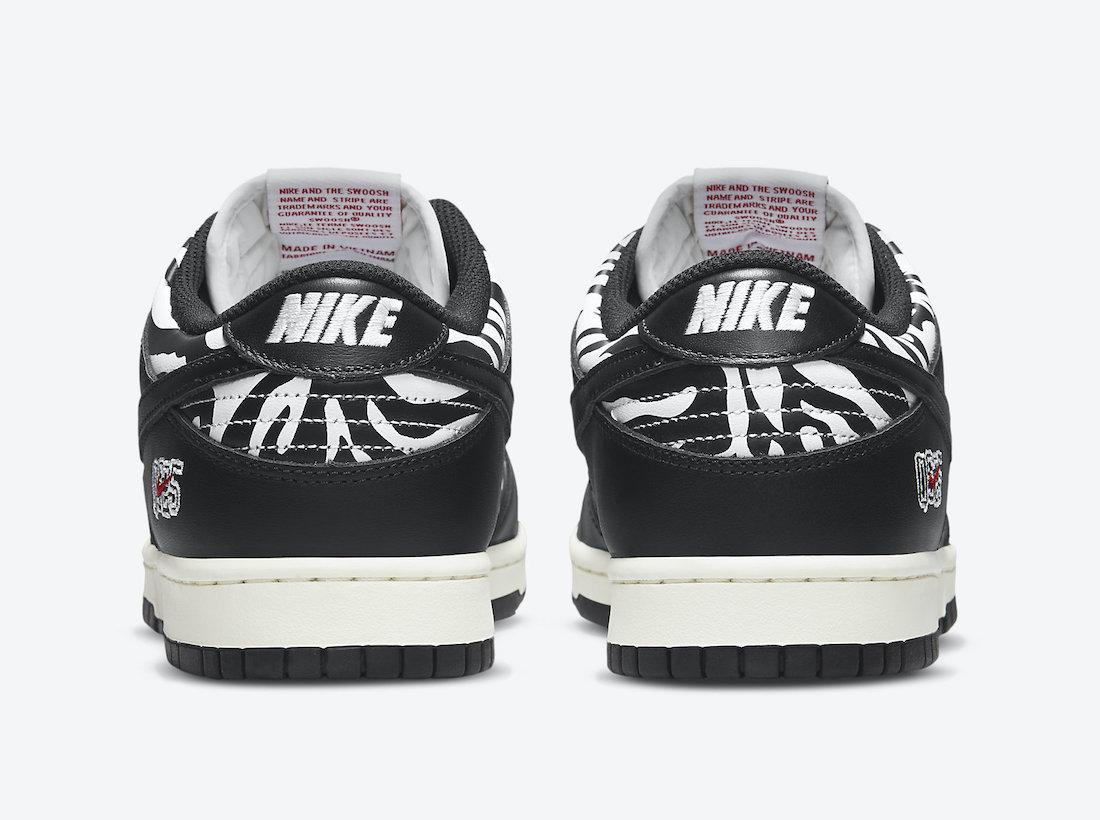 Quartersnacks,Nike,SB Dunk Low  又是「斑马」又是联名!全新 SB Dunk 下周发售!