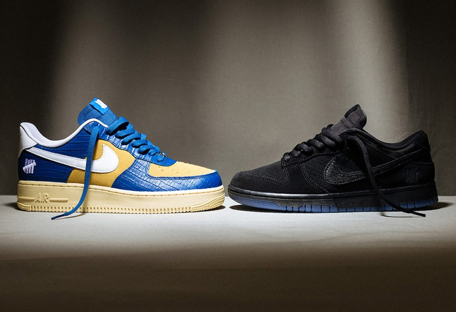 UNDEFEATED,Nike,Dunk Low,5 On  黑武士 Dunk + 蛇纹 AF1!UNDFTD x Nike 第三波即将发售!