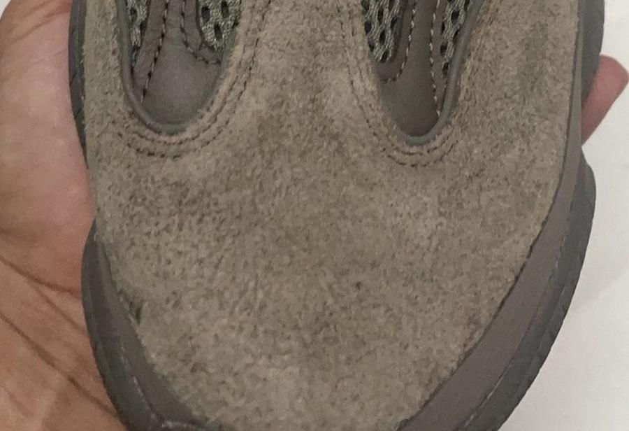 adidas,Yeezy 500,侃爷,Brown Clay  秋冬绝配的大地色又来了!全新 Yeezy 500 实物曝光!