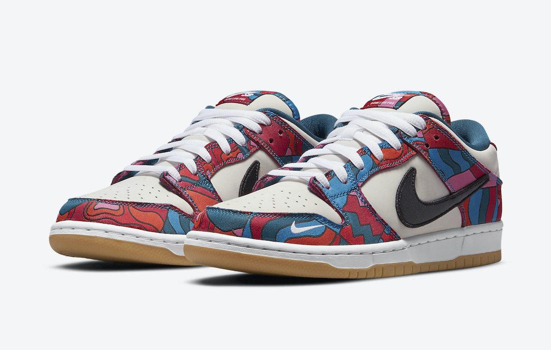 Parra,Nike SB,Dunk Low  好看的联名又来了!全新四款 Parra x Nike SB Dunk 实物图曝光!