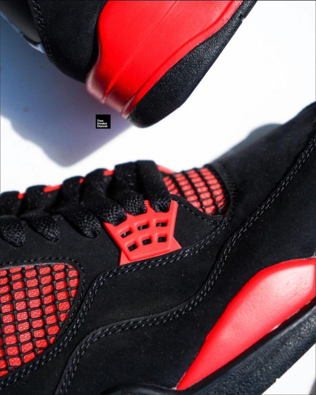 AJ,Air Jordan 4,Red Thunder,CT  红雷神配色!全新 Air Jordan 4 上脚图曝光!