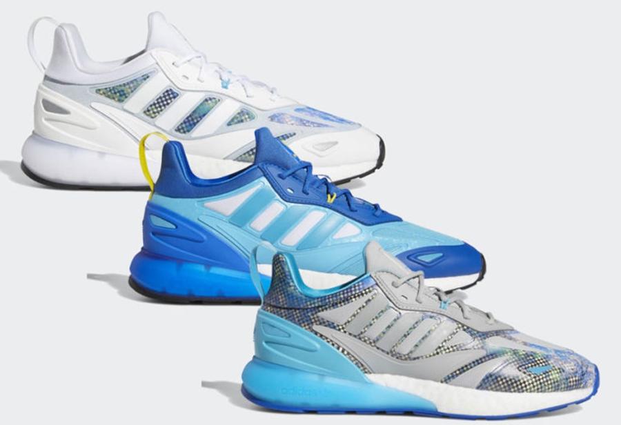 adidas,Ninja x adidas,ZX 2K 2.  「顶级主播」的联名鞋!全新 adidas x Ninja 官图曝光!