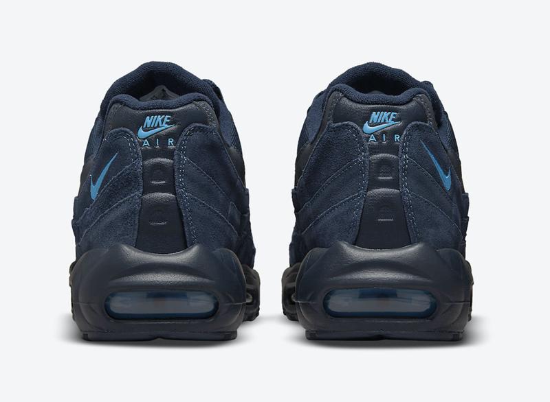 Nike Air Max 95,DO6704-400  低调海军蓝装扮!全新 Air Max 95 官图曝光!