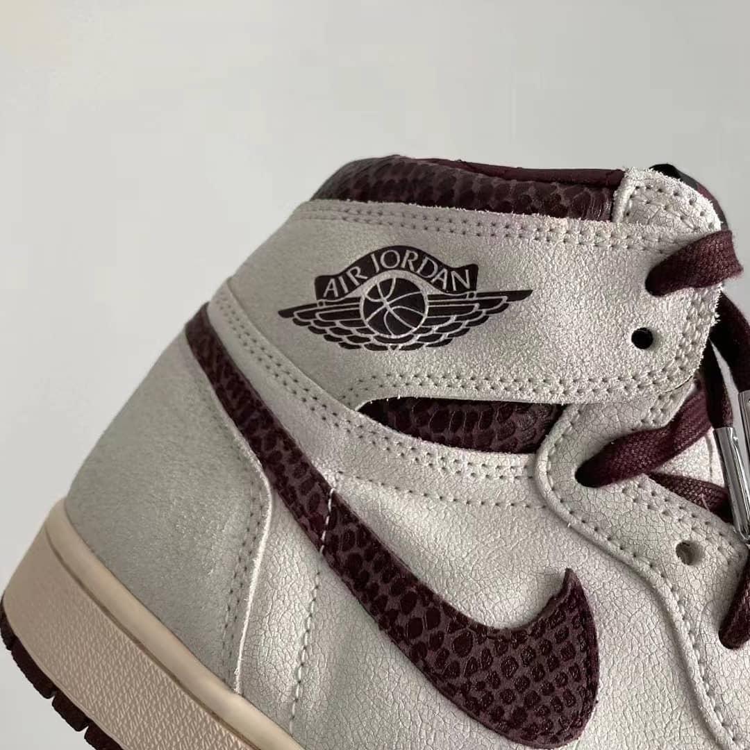 Air Jordan 1 High OG,A Ma Mani  四处细节必看!A Ma Maniére x Air Jordan 1 最新实物曝光!
