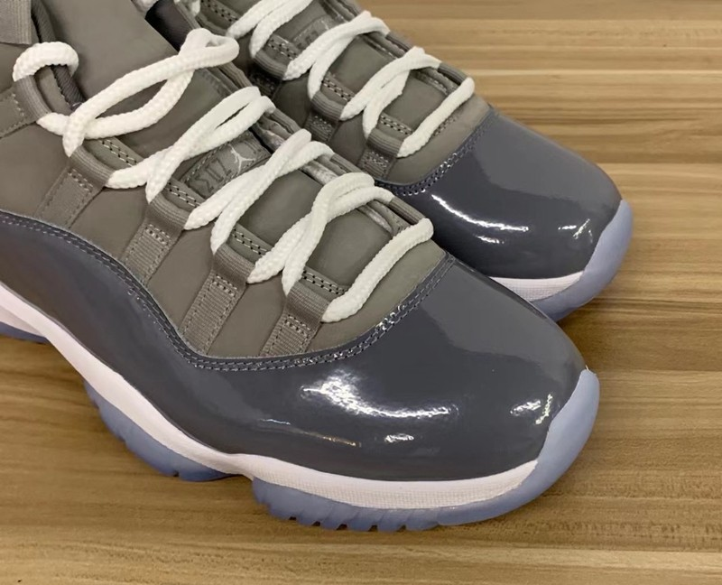Air Jordan 11,酷灰,cool grey,CT8  发售日期确定!酷灰 AJ11 最新实物图曝光!网友:等不及了!