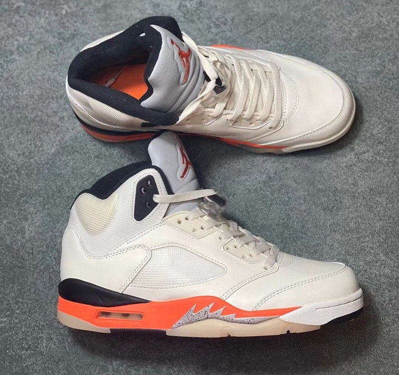 Air Jordan 5 ,扣碎篮板,Shattered B  扣碎篮板 Air Jordan 5 实物泄露!这设计头一次见!