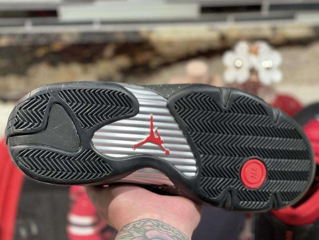 AJ14,Air Jordan 14 Low,WMNS,Re  质感十足 + 甜美主题!全新「黑红」AJ14 最新实物曝光!