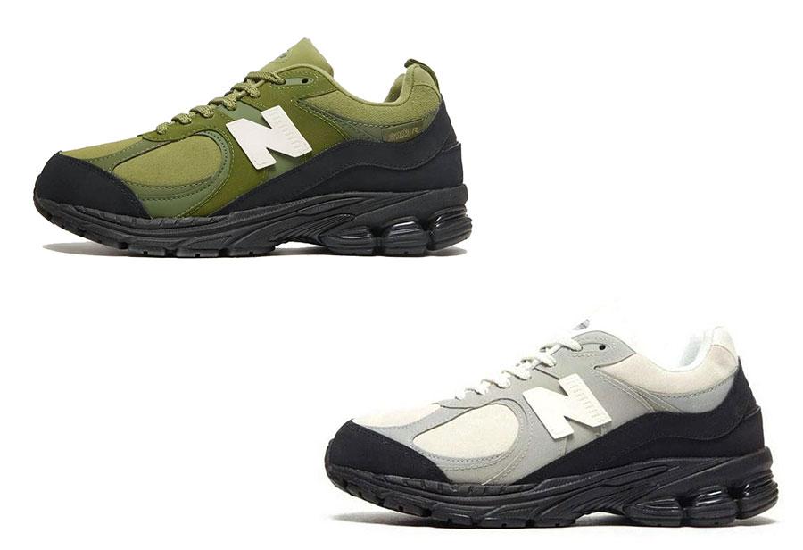 The Basement,New Balance,2002R  一双军事风、一双简约风!全新联名 NB 2002R 官图曝光!