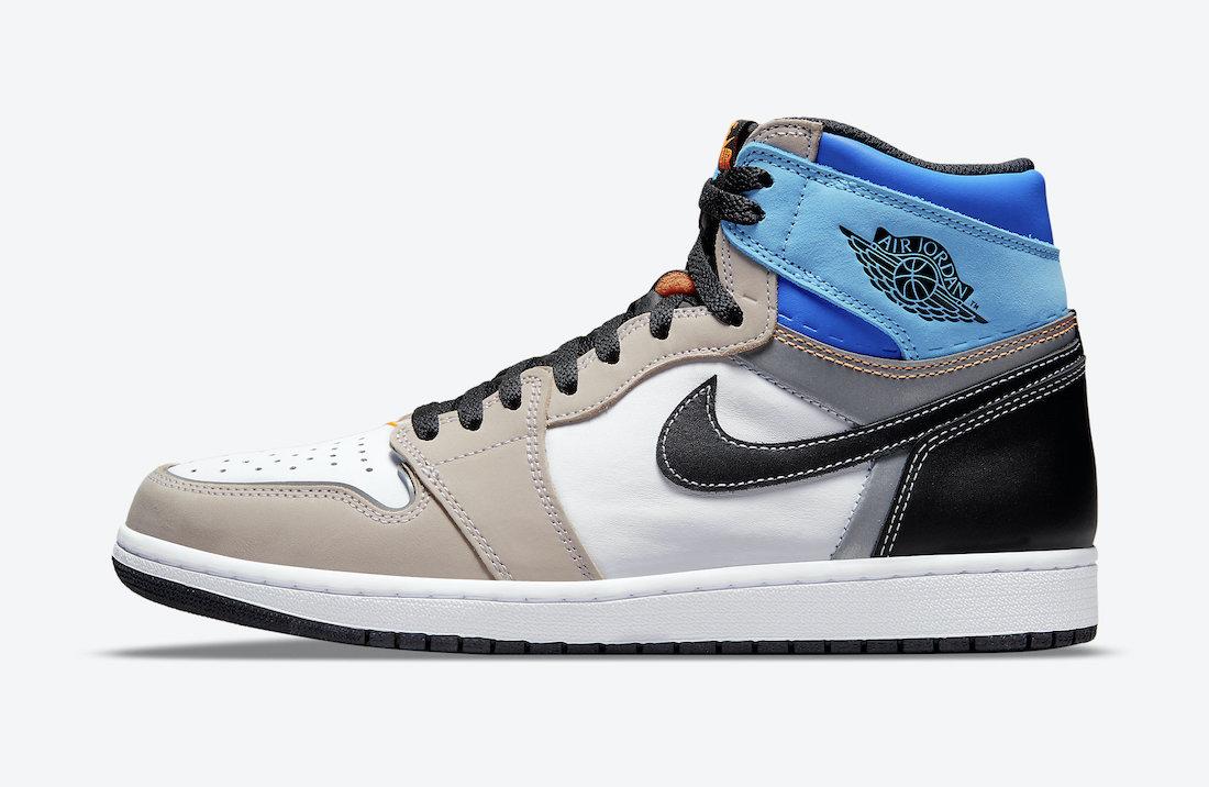 AJ,Air Jordan 1 High,Prototype  球鞋新玩法!全新配色 Air Jordan 1 High 官图曝光!
