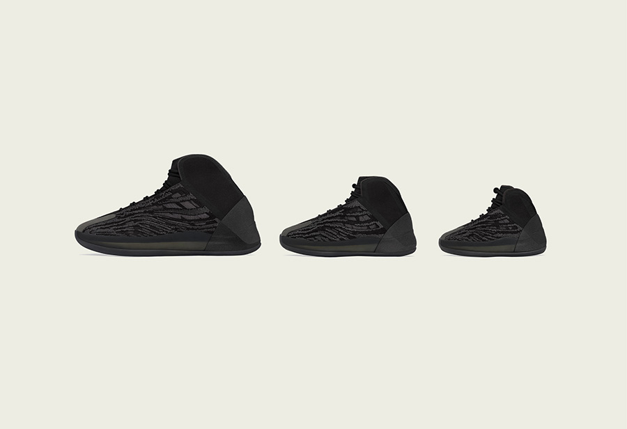 adidas,YZY QNTM,CONFIRMED APP,  「黑武士」风格!Yeezy 篮球鞋又出新配色!发售信息有了!
