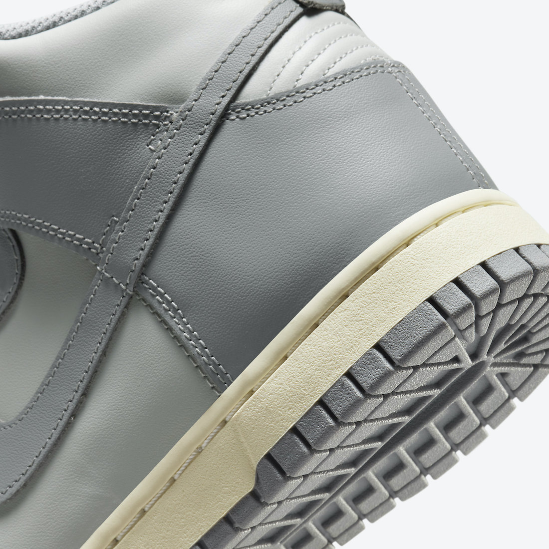 Nike,Dunk High,DD1869-001  经典「烟灰色」!全新 Nike Dunk High 官图曝光!