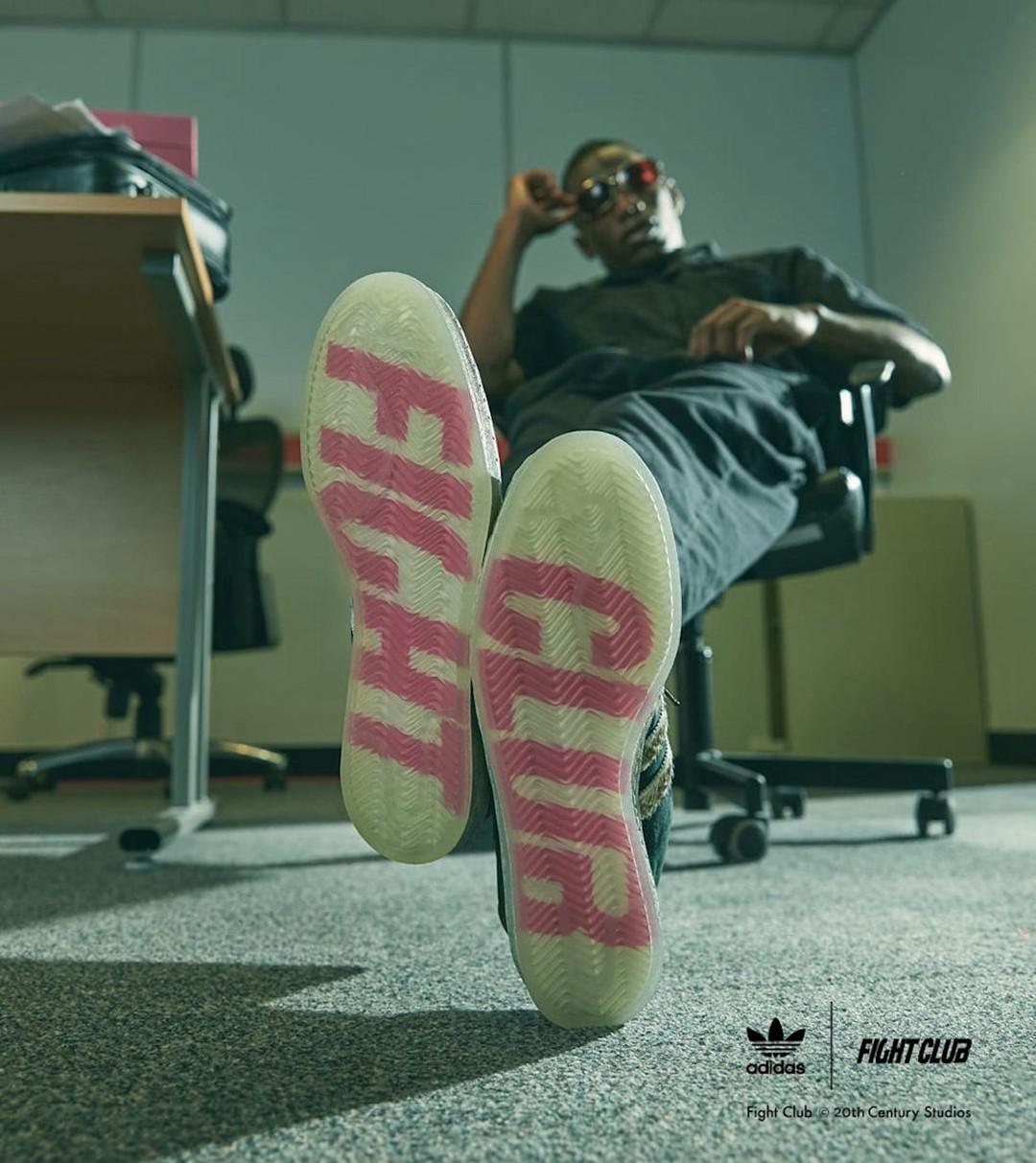 adidas,Campus 80s,Size?,Fight  FIGHT CLUB x adidas 联名曝光?!光看外底就想要!