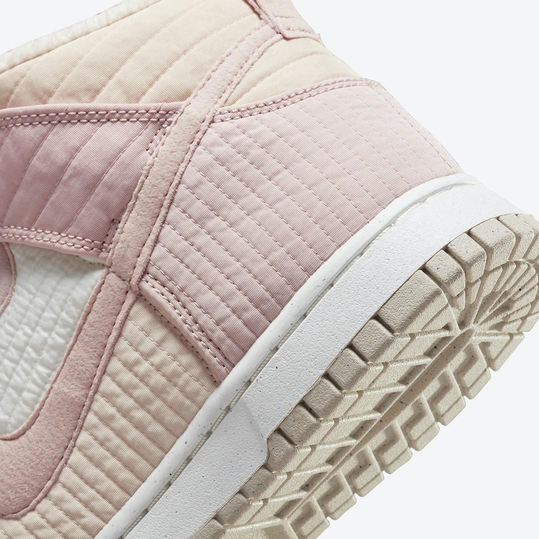 Nike,Dunk High,Toasty,DN9909-2  「军大衣」Dunk Hi 又有新配色!糖果粉色真骚气!