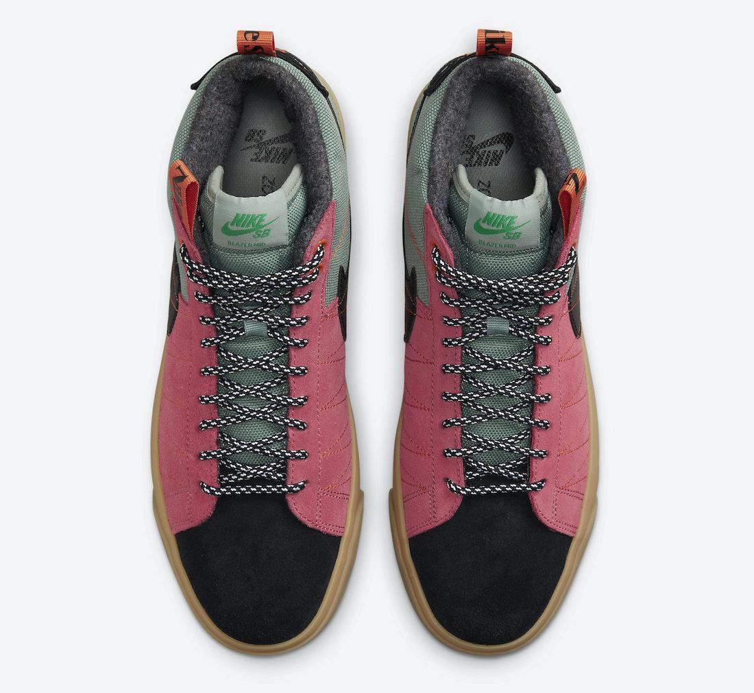 Nike,SB Blazer Mid,Premium,Acc  户外徒步风!全新配色 Blazer Mid 官图曝光!