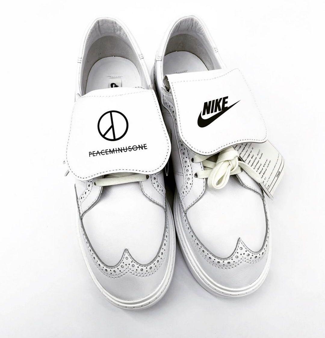 Kwondo 1,PEACEMINUSONE,权志龙,Nik  双鞋舌设计!权志龙 Nike 新鞋最新上脚!种草了!